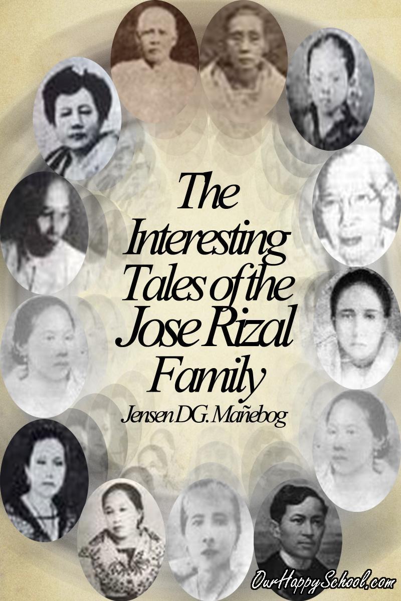 jose rizals family